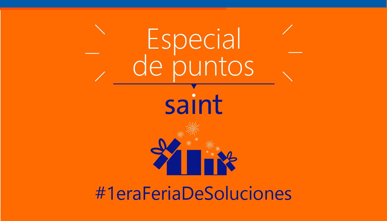 Venezuela: especial de puntos saint #1eraFeriaDeSoluciones.