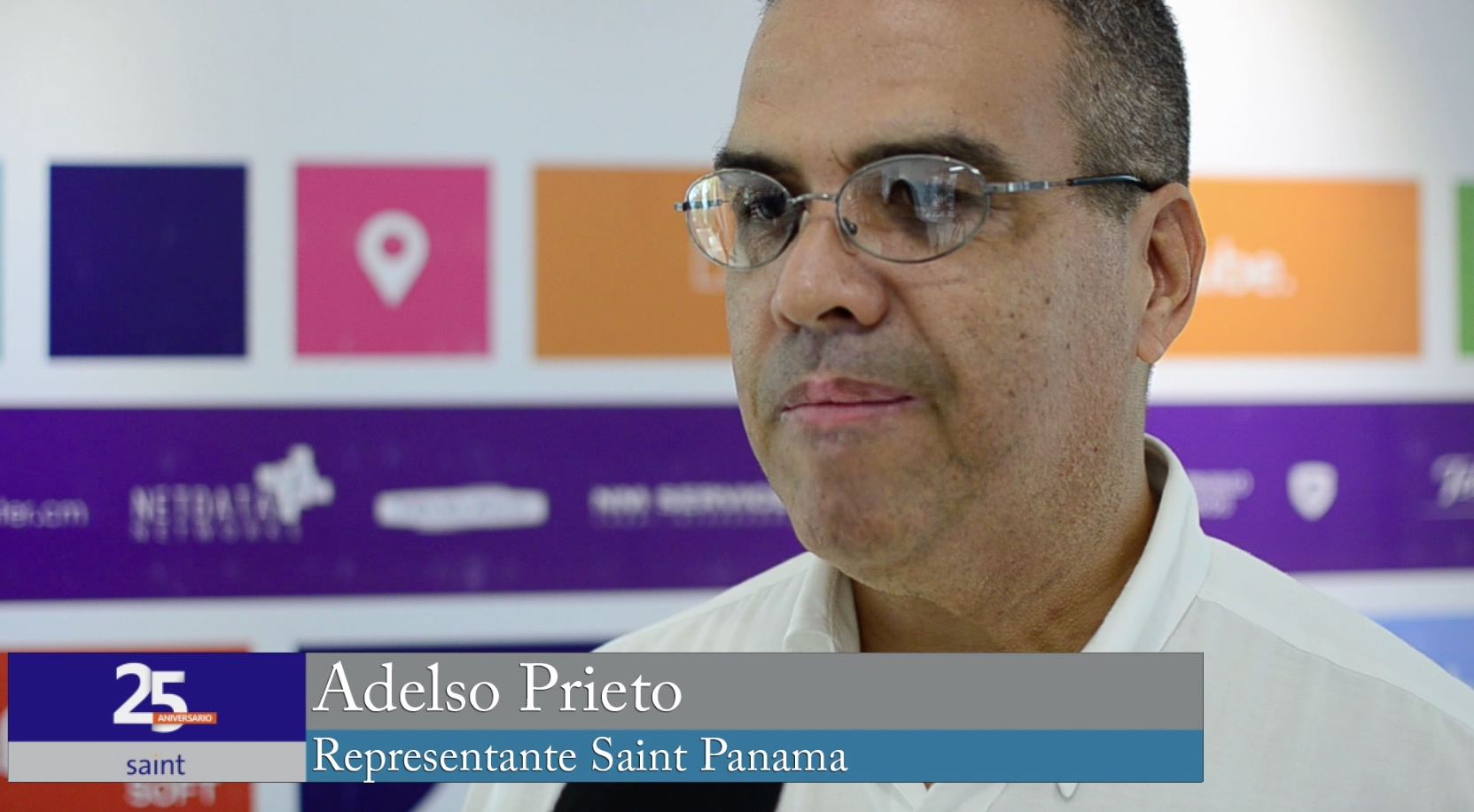 Adelso Prieto representante de Saint para América Central, Aruba y Curazao.