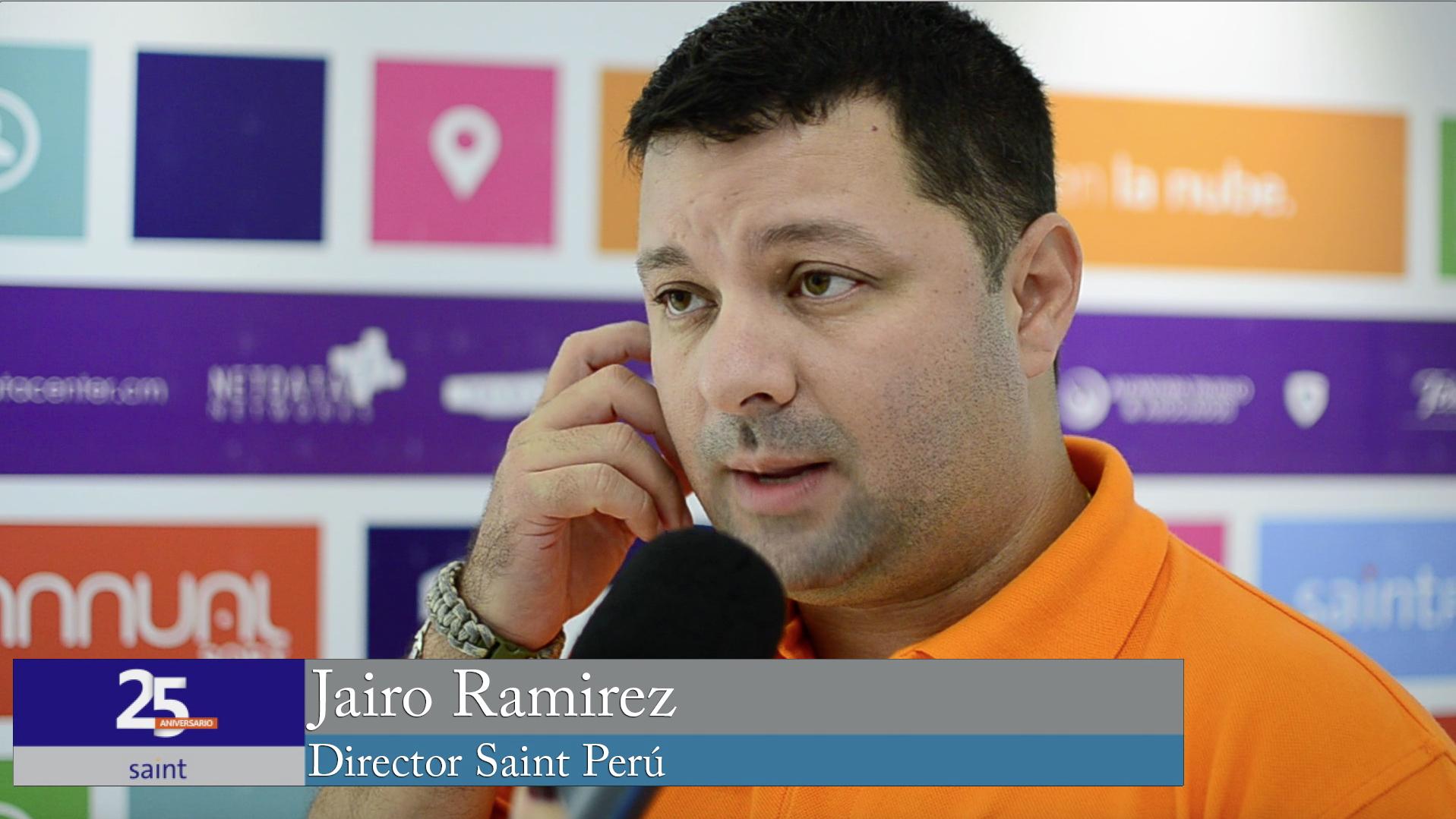 Jairo Ramírez director de Saint Perú.
