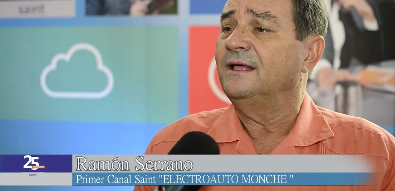 Opinión de Ramón Serrano, el primer cliente de saint hace más de 25 años