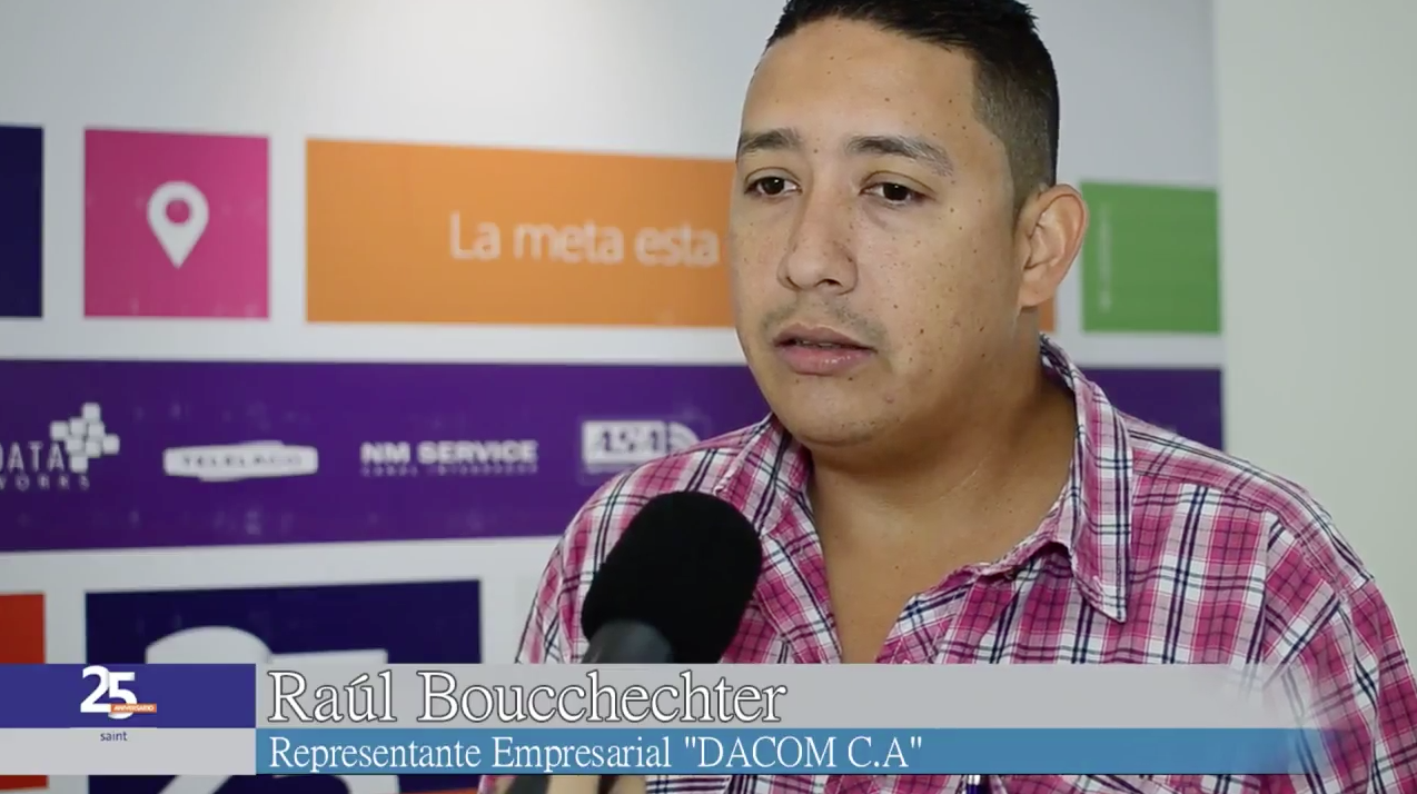 Opinión de Raúl Boucchechter, representante empresarial DACOM C.A.