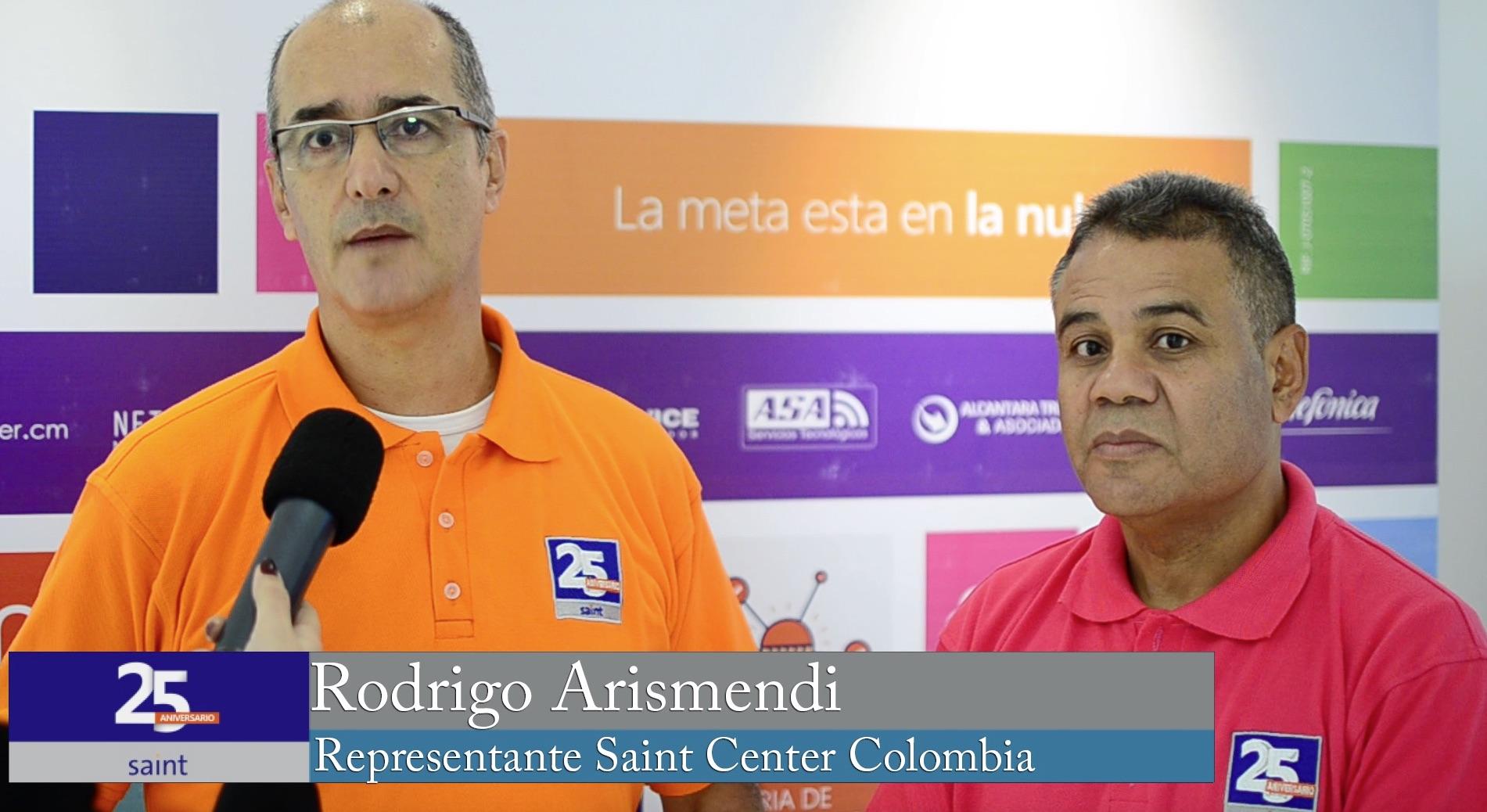 Opinión de Rodrigo Arismendi representante de Saint en Colombia