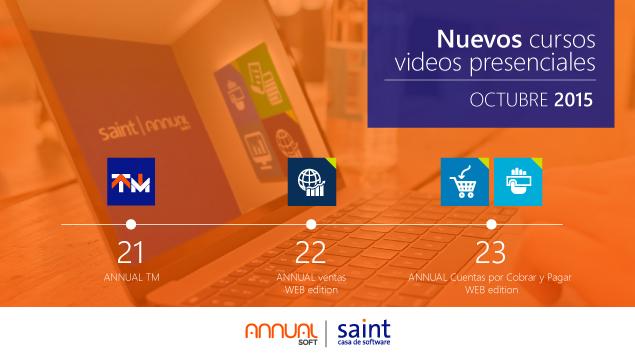 Nuevos cursos técnicos saint para canales integradores, vídeo presenciales.