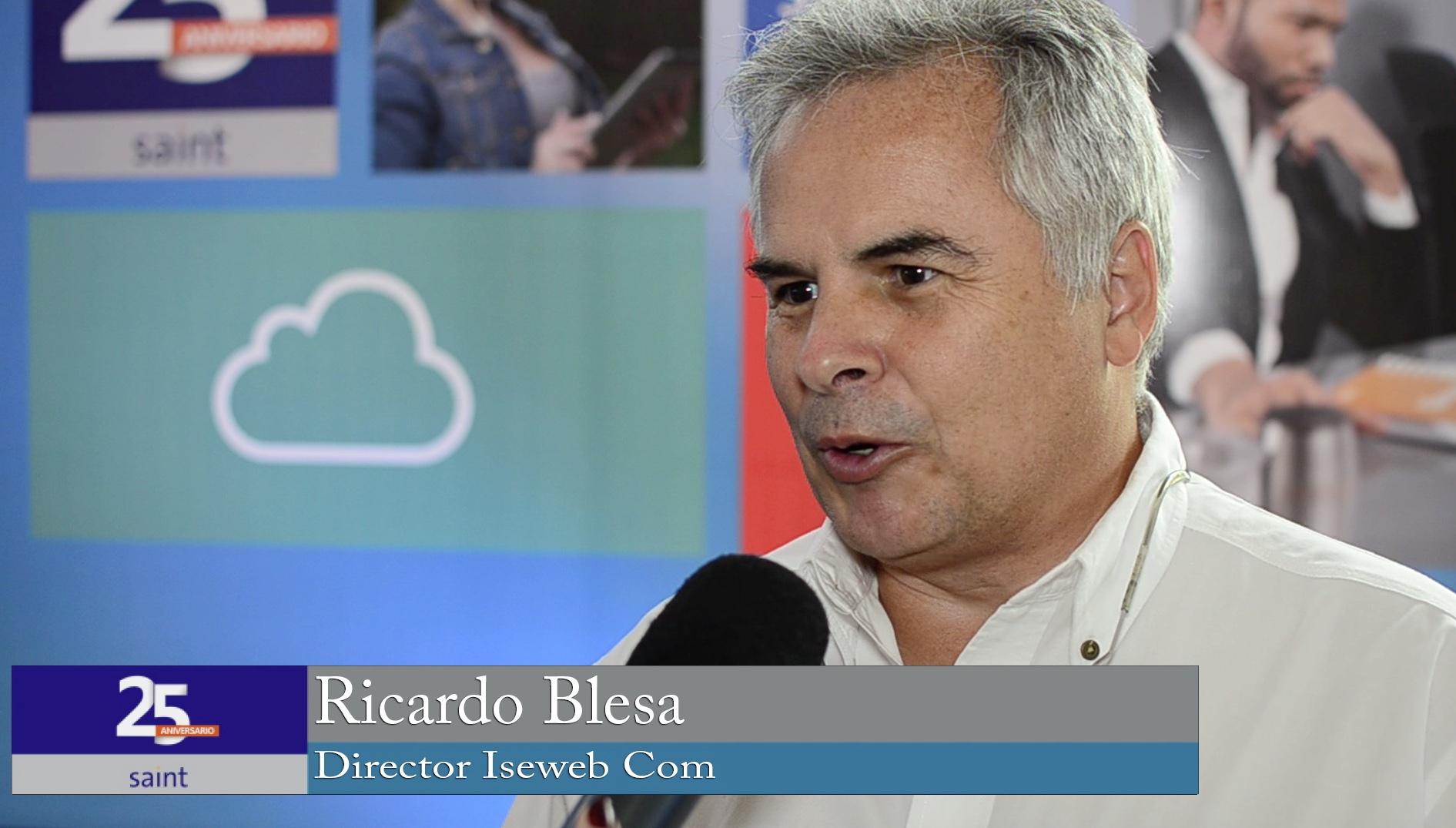 Ricardo Blesa, director de Iseweb habla sobre su trabajo con saint.