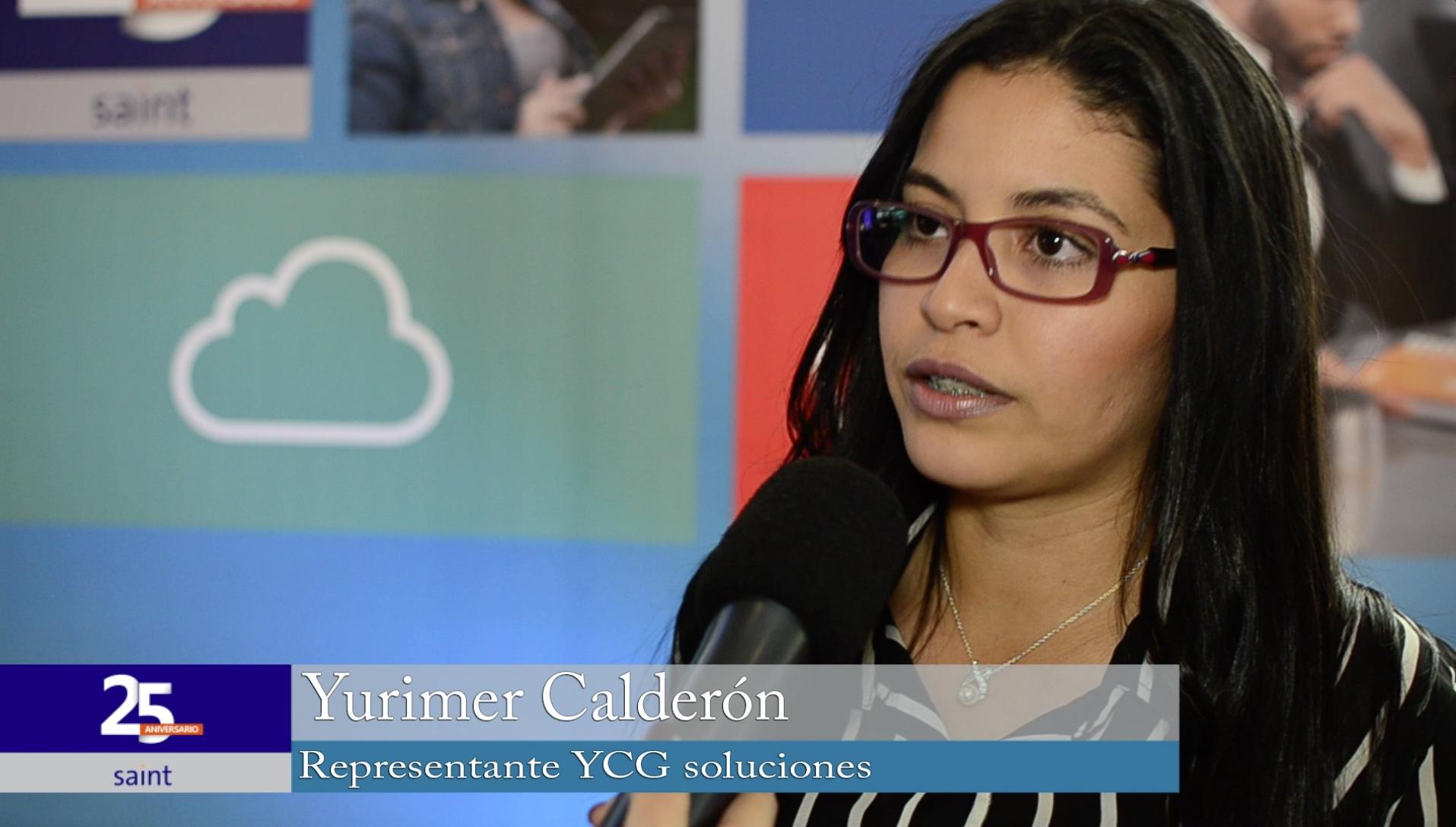 Yurimer Calderón representante de YCG Soluciones habla de su trabajo con SAINT.