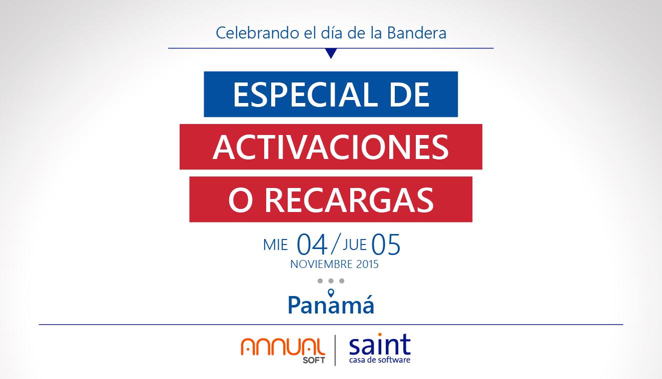 """Panamá: especial de activaciones """"Celebrando el día de la Bandera""""."""