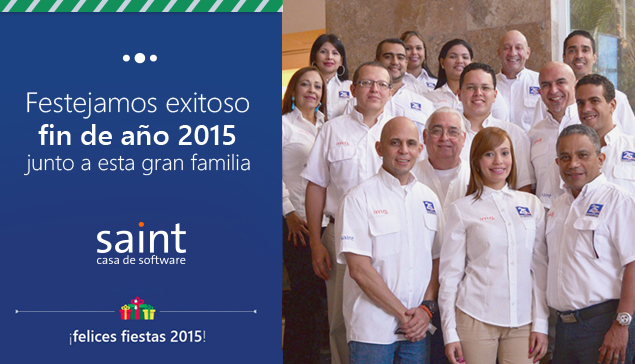 Iniciamos festejos fin de año 2015 en SAINT.