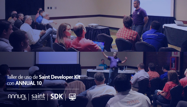 Dictamos taller presencial de uso de Saint Developer Kit con ANNUAL 10