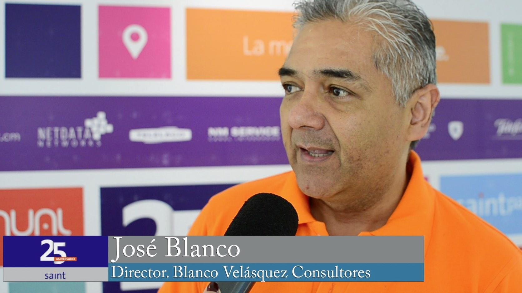 José Blanco habla de sus 25 años trabajando con SAINT.