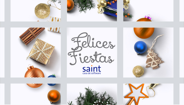 Felices fiestas 2015 les desea saint casa Matriz.