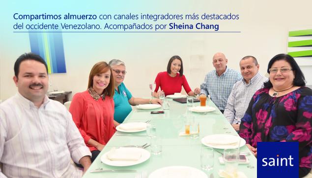 Almuerzo con canales integradores más destacados del Occidente Venezolano.