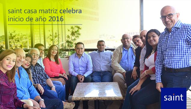 saint casa matriz celebra inicio de año 2016.