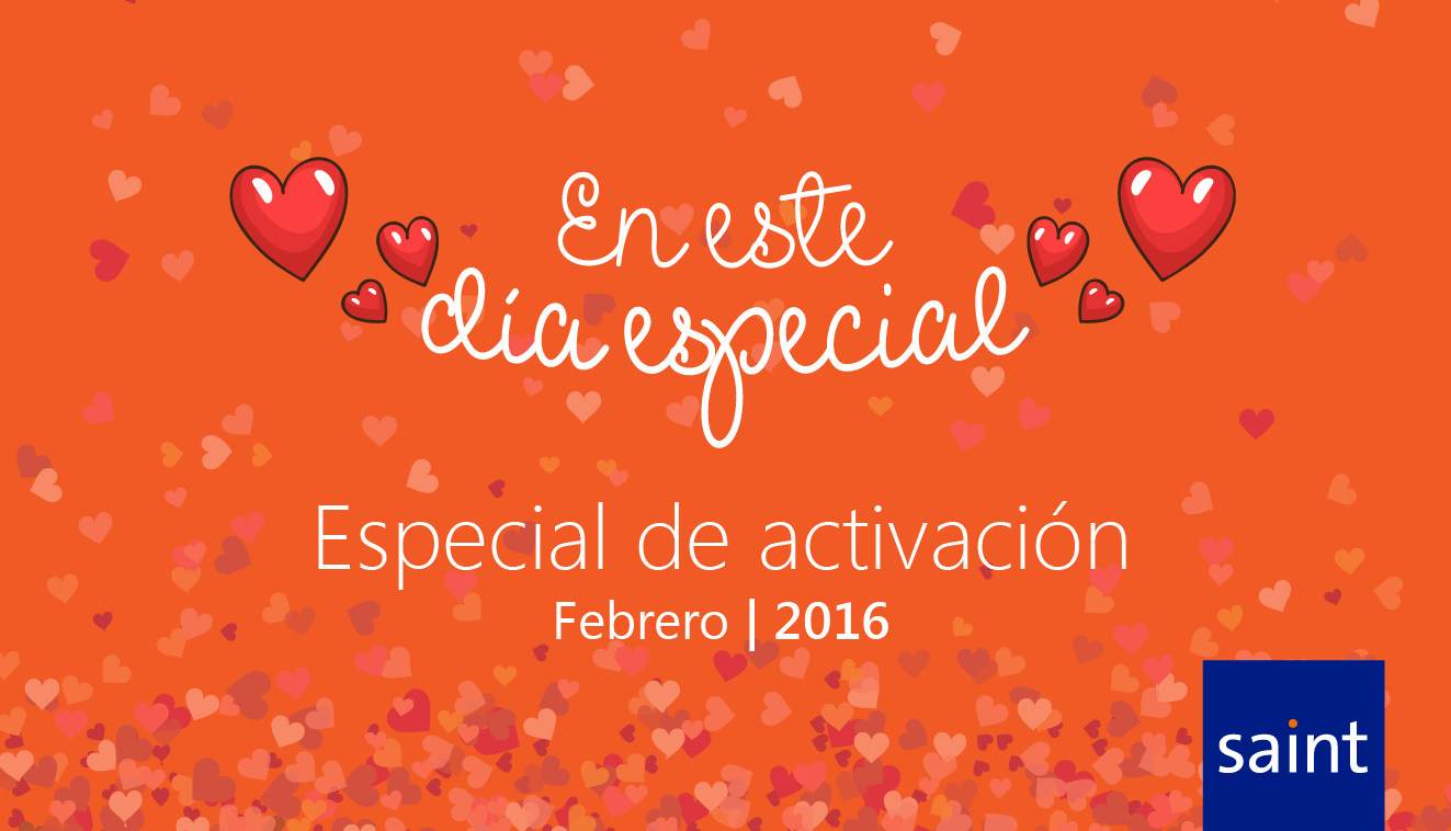 Especial de activaciones, San Valentín te Recompensa (válido para todos los países).