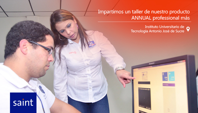 Impartimos taller de Annual Professional Más a estudiantes de Administración.