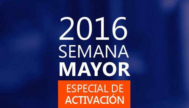 Especias de activación «SEMANA MAYOR 2016»