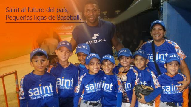 Saint apuesta al futuro de Venezuela con Las Pequeñas Ligas de Baseball.