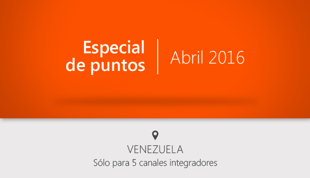 Venezuela: especial de puntos Abril 2016