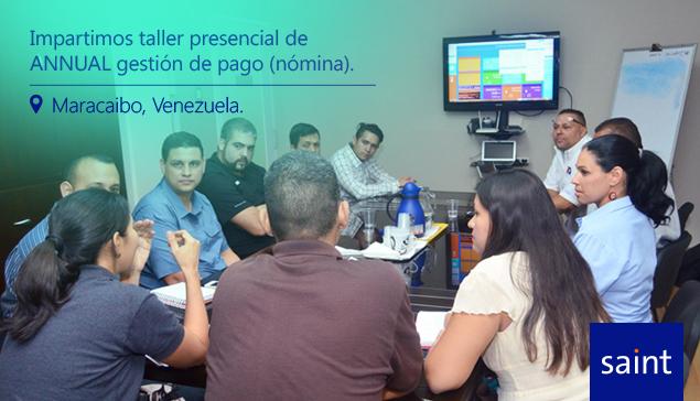 Impartimos taller presencial de ANNUAL gestión pago (nómina).