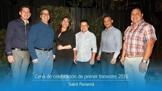 Así celebramos excelentes resultados del primer trimestre en Panamá.