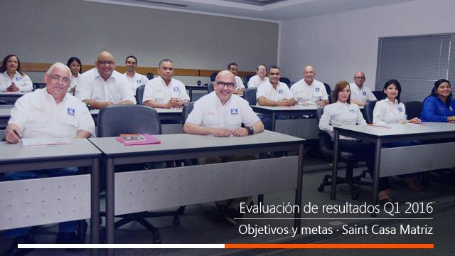 Casa Matriz evaluó resultados Q1 2016.