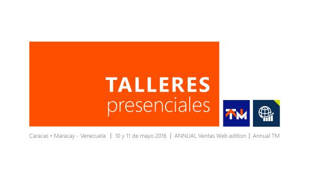 Nuevos Talleres Presenciales en Venezuela, Caracas y Maracay