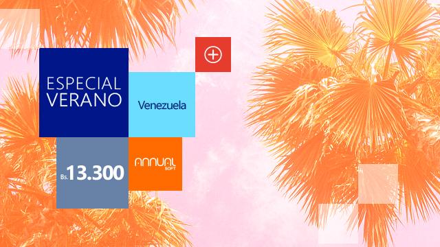 Venezuela especial de verano,  ANNUAL Professional más …! a bolívares 13.300