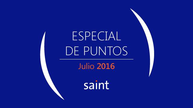 Venezuela: especial de puntos  Julio 2016
