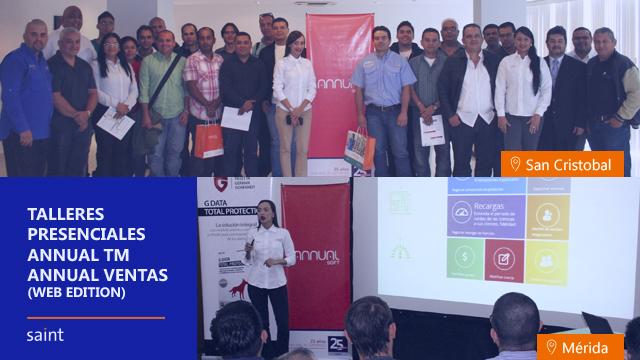 Impartimos exitosos talleres presenciales de ANNUAL TM y Ventas Web en los andes Venezolanos
