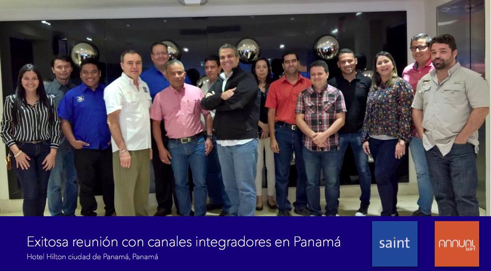 Exitosa reunión con canales integradores en Panamá