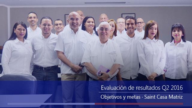Casa Matriz evaluó resultados Q2 2016.