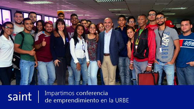 Impartimos conferencia a estudiantes de desarrollo de la capacidad emprendedora