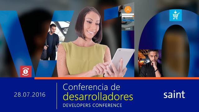 Primera Conferencia de desarrolladores SAINT.
