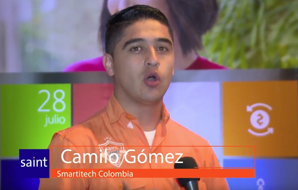Opinión de Camilo Gómez, Smartitech Colombia. Sobre la primera Conferencias de Desarrolladores Saint