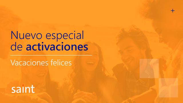 Especial de ACTIVACIÓN «Vacaciones felices 2016»