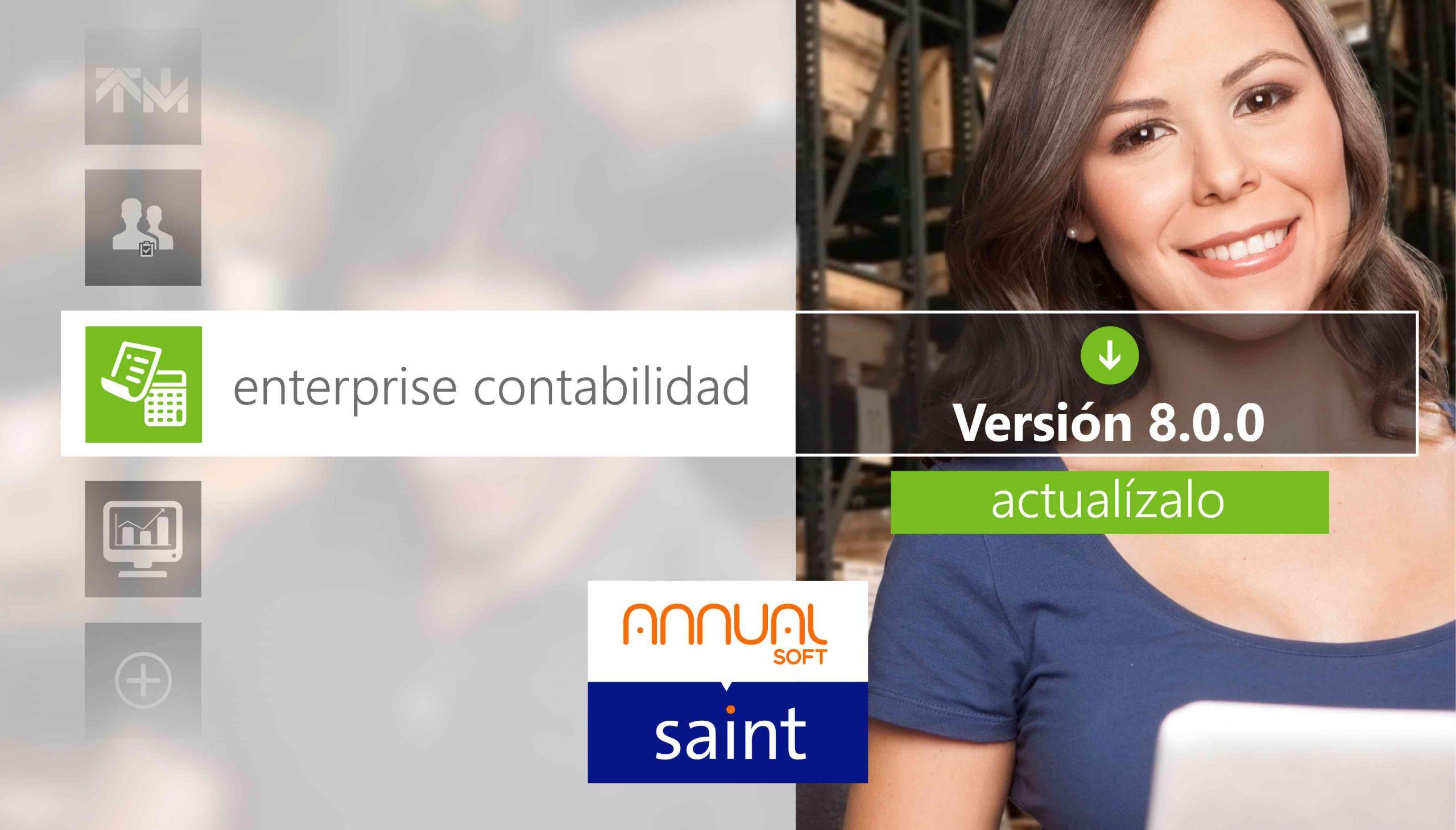 Disponible actualización de ANNUAL enterprise contabilidad 8.0.0