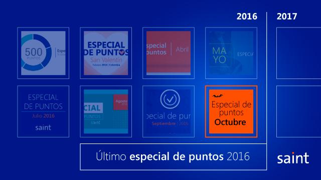 Último especial de puntos 2016. Venezuela.