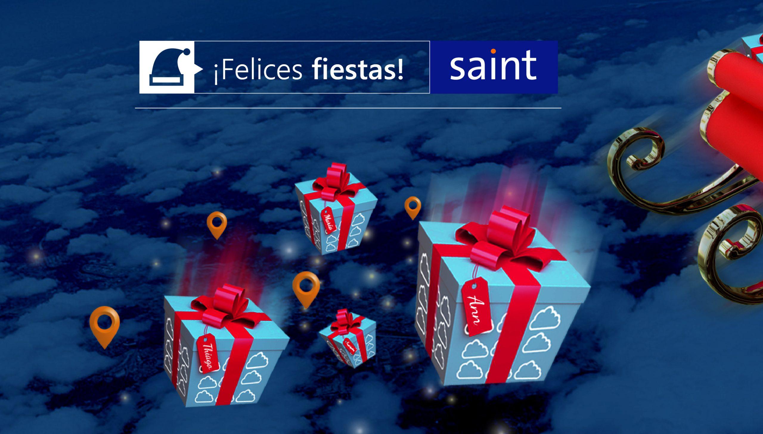 Felices fiestas 2019 les desea saint casa Matriz