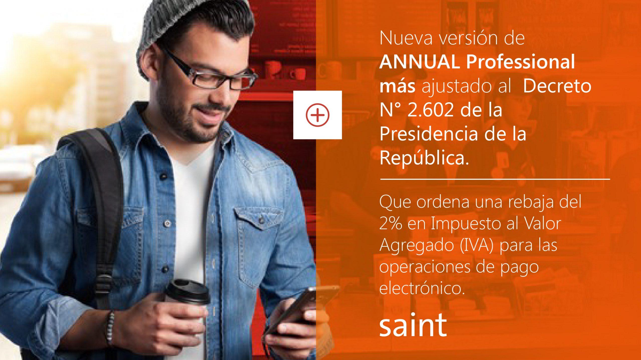 Venezuela: nueva versión de Professional más, ajustado al decreto 2.602