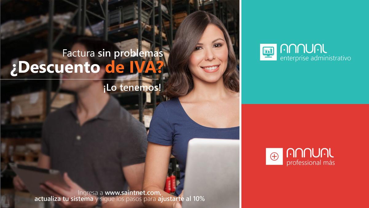 Venezuela: factura sin problemas ¿descuento de IVA? ¡Lo tenemos!