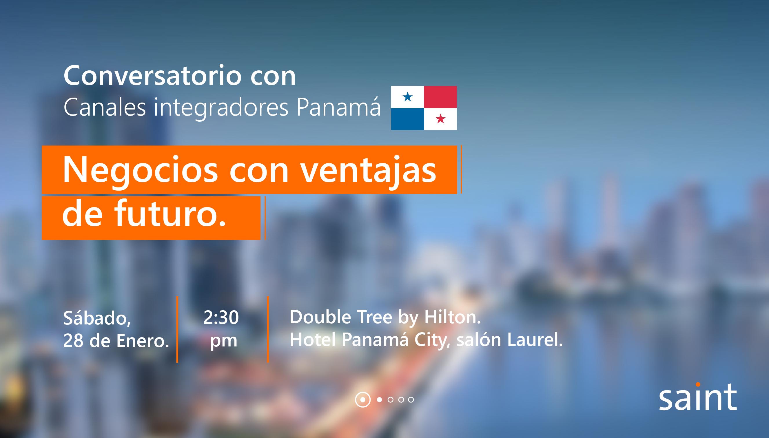 Reunión con canales integradores de Panamá