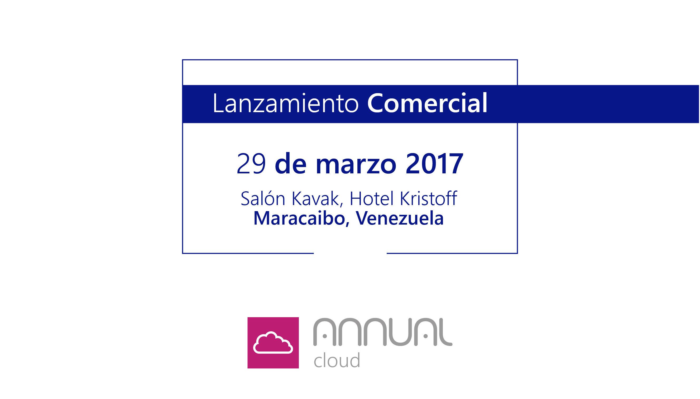 Lanzamiento comercial de Annual Cloud.