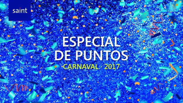 Venezuela: especial de puntos Carnaval 2017.