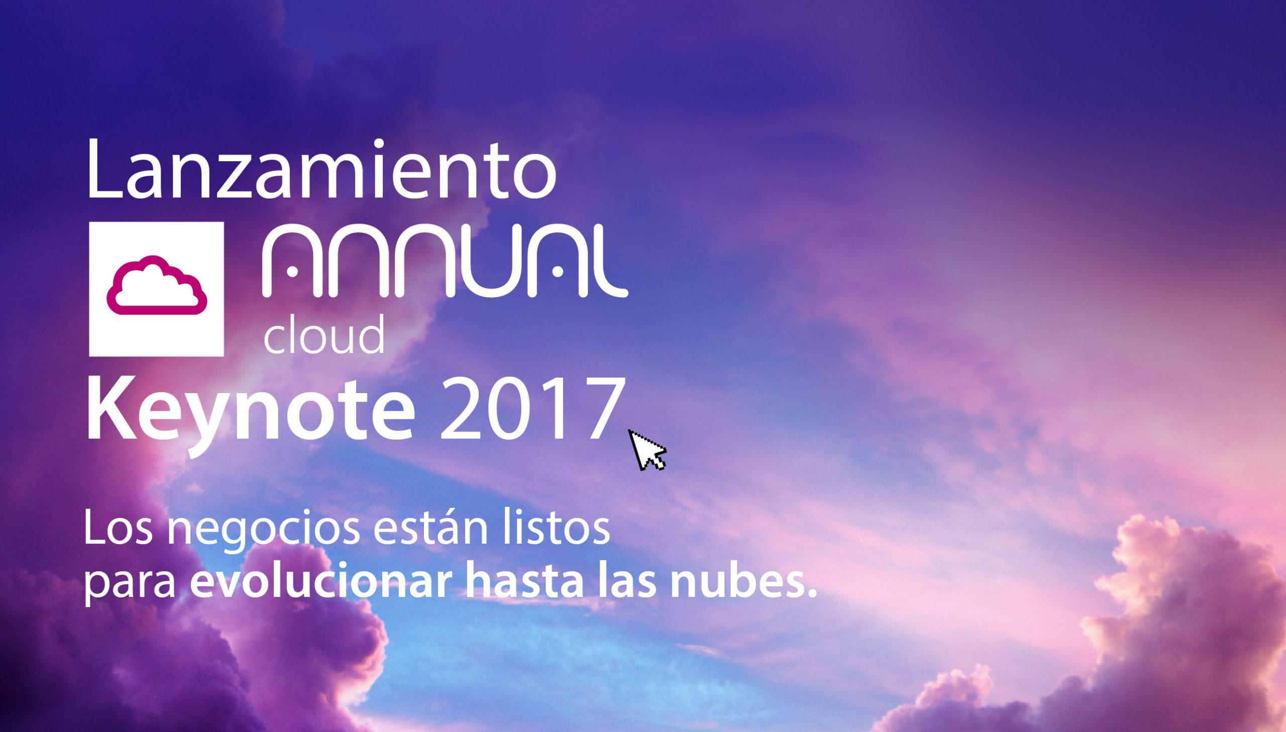 Keynote 2017 Annual Cloud.