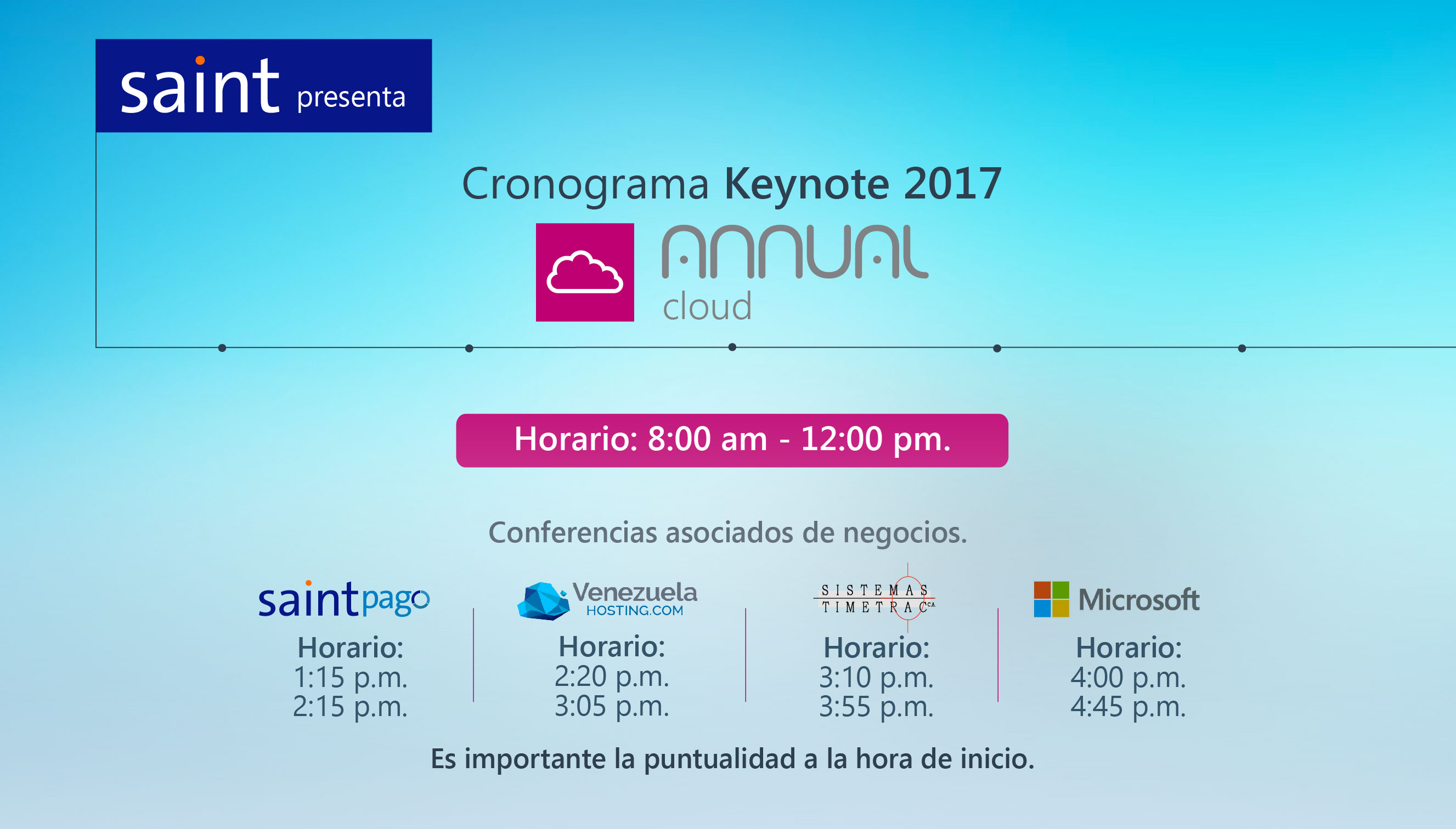Keynote 2017 Annual Cloud