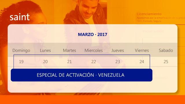 Especial de activaciones. Venezuela.