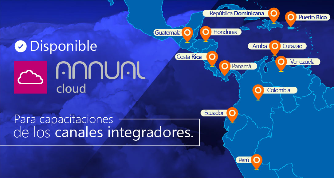 Disponible Annual Cloud para capacitaciones de canales integradores Saint