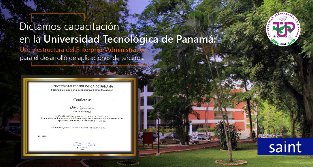 Impartimos capacitación en la Universidad Tecnológica de Panamá.