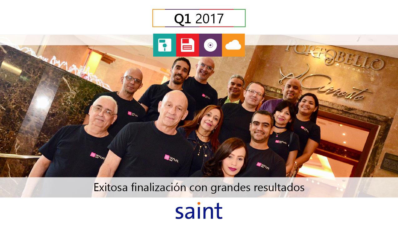 Con grandes resultados finalizo el exitoso Q1 2017