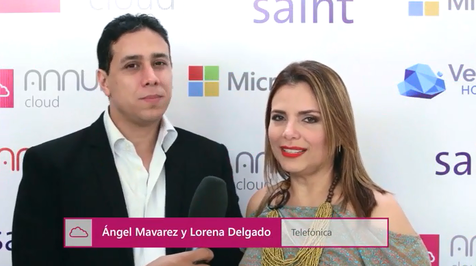 Opiniones sobre el Keynote 2017 Annual Cloud (Ángel Mavarez y Lorena Delgado de Telefónica)