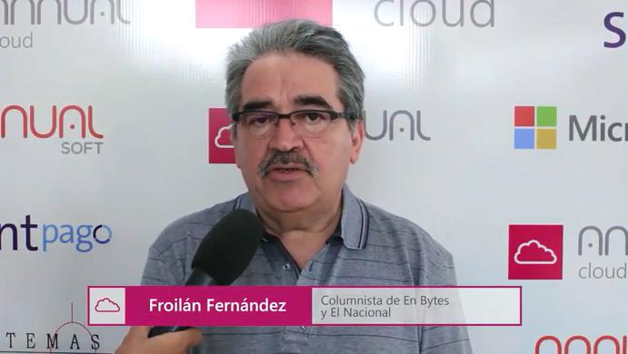 Opinión del periodista Froilán Fernández sobre el Keynote 2017 Annual Cloud.